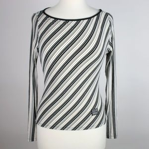 GIANNI VERSACE Jeans Couture VTG 80s Blouse LARGE
